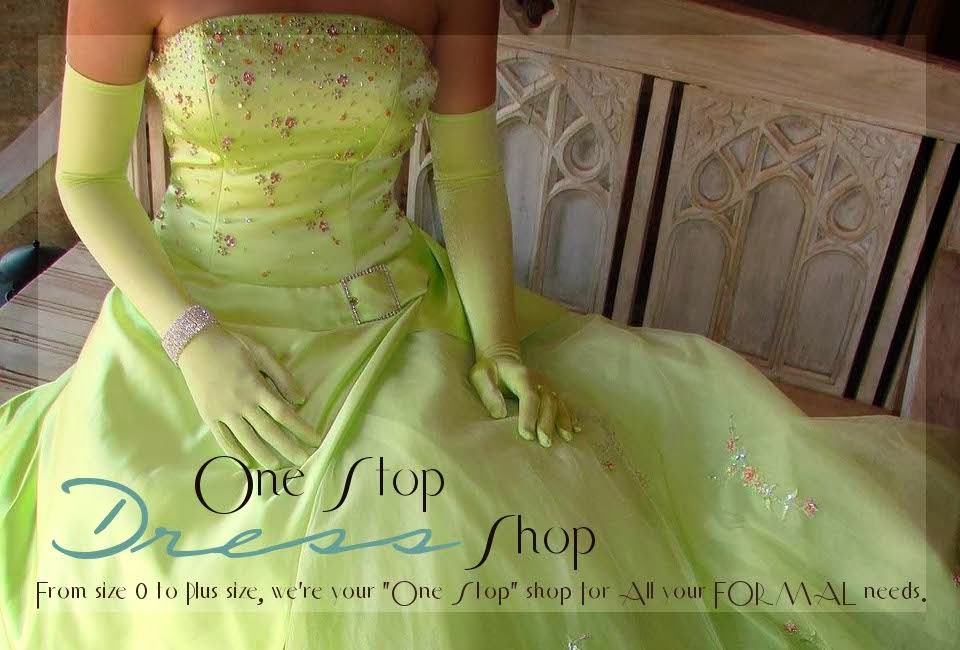 One Stop Dress Shop, Dress Rentals