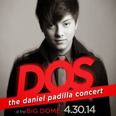 'DOS' Daniel Padilla Birthday Concert on April 30 at the Araneta Coliseum