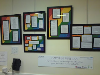 Our writing is hanging on the wall