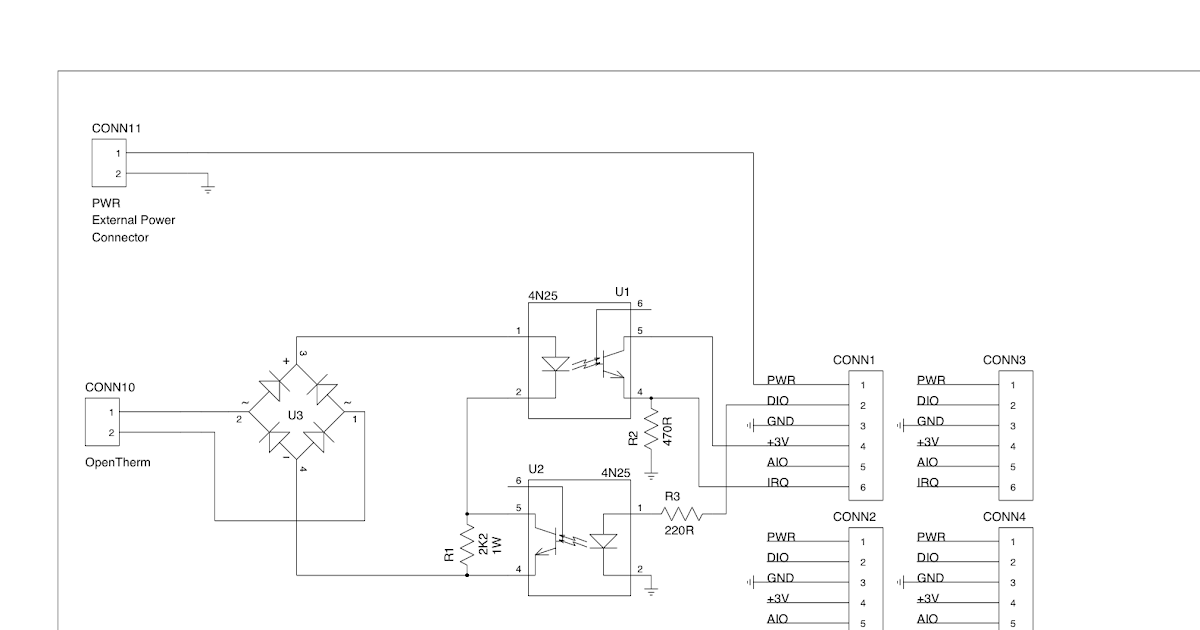 Jaagpag E Arredores  Opentherm Circuit Diagram