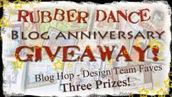 Rubber Dance Blog Anniversary