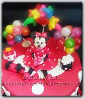 Kue Ulang Tahun Anak Minnie Mause
