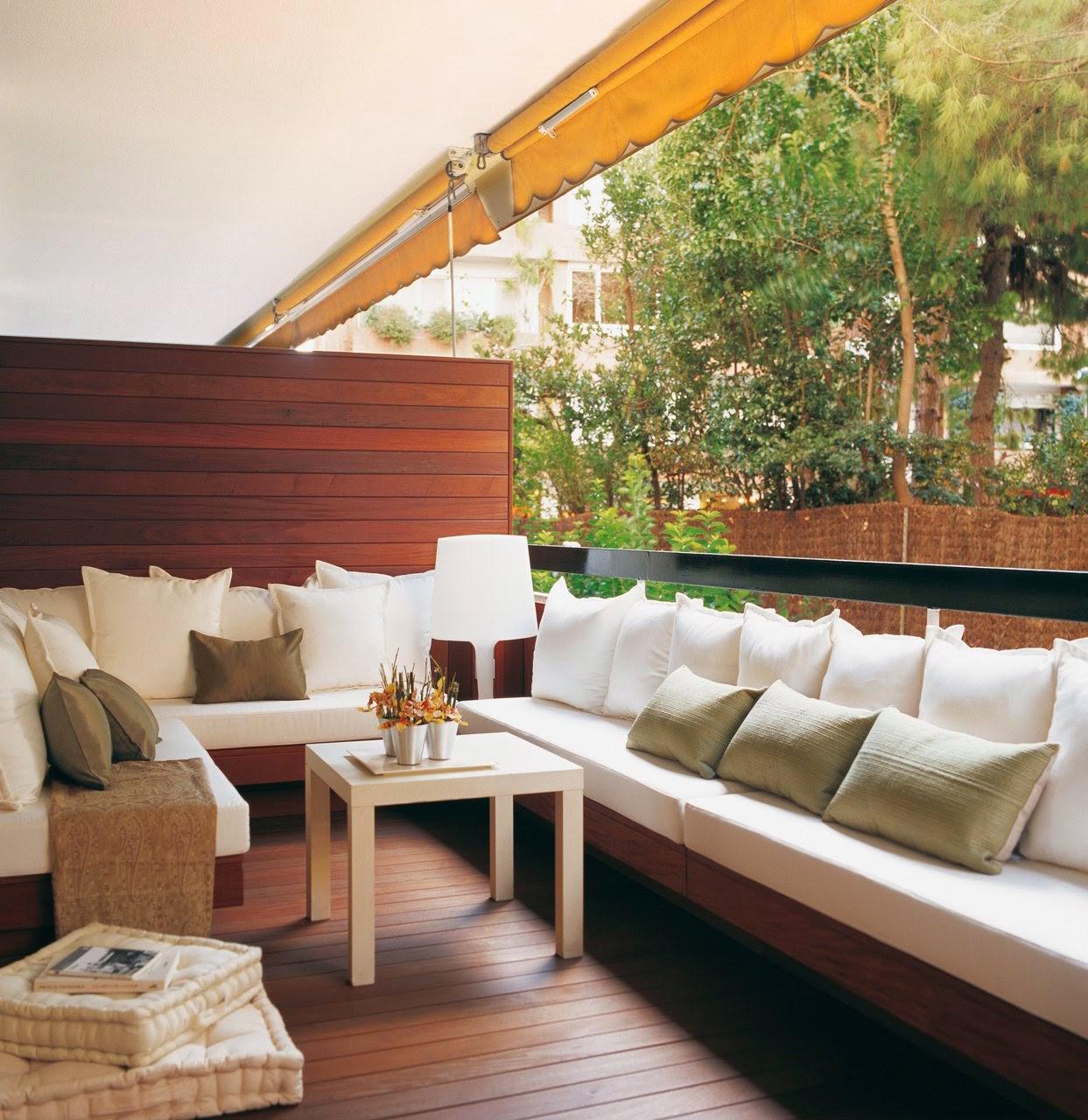 La maison 17 decoraci n interiorismo terrazas ii trucos para decorar tu peque a terraza - Decoracion terrazas pequenas ...