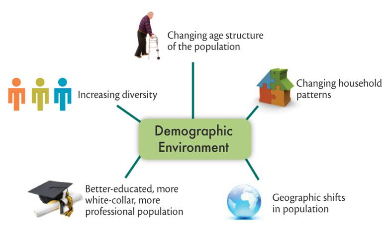 how changes in demographic and economic environment affect marketing decision Policies also influence business decisions—through regulatory mandates, property rights and liability rules, disclosure mandates, taxes and subsidies, procurement criteria, and other policies—but the primary initiative lies with businesses themselves.