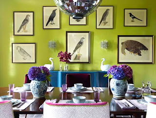 ruang+makan+hijau Kombinasi Warna Interior Untuk Rumah Modern