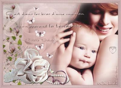 Message d'amour pour sa mère