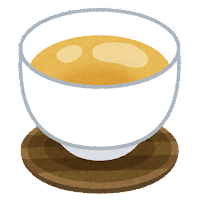 お茶のイラスト「薄茶」