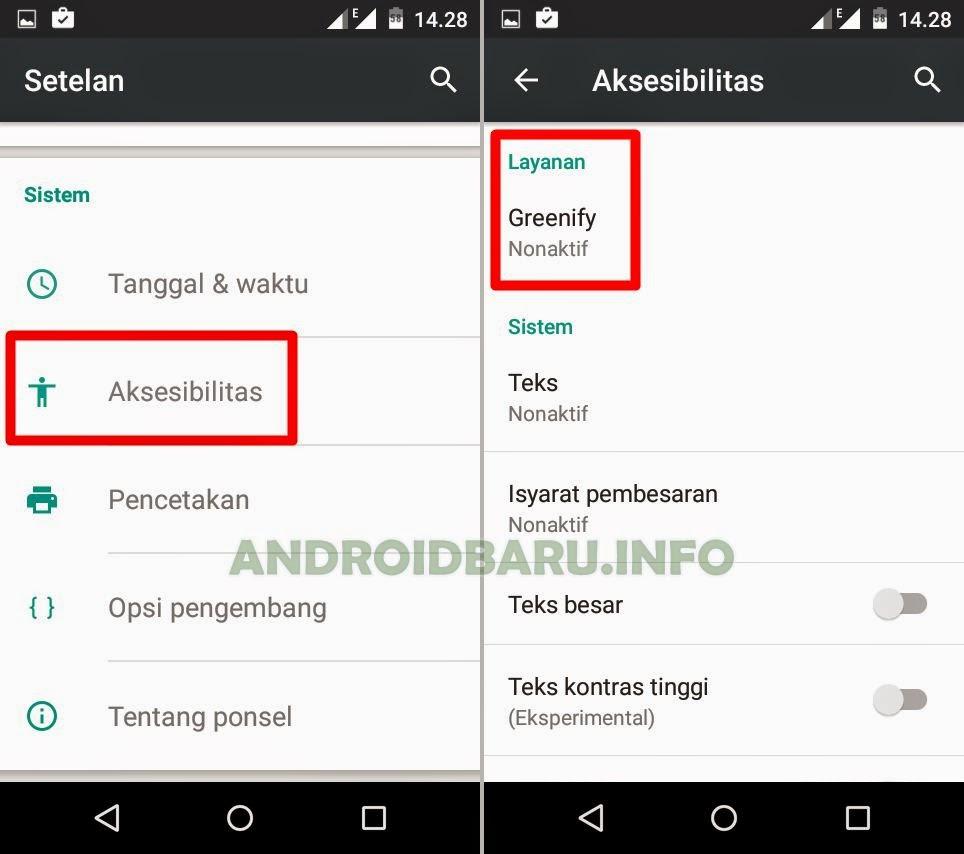 Pengaturan Greenify di HP Android Tanpa Root Agar Bisa Hibernate Otomatis