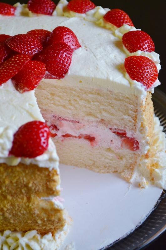 For the Love of Dessert: Strawberry, Mascarpone Layer Cake