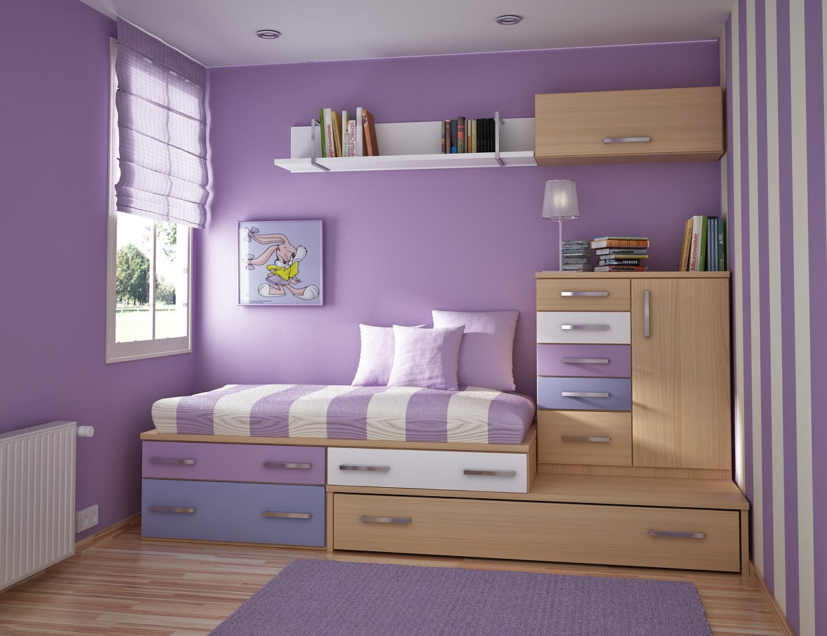 K w ideas for kids and teen rooms - Teenage bedroom designs for small spaces decoration ...