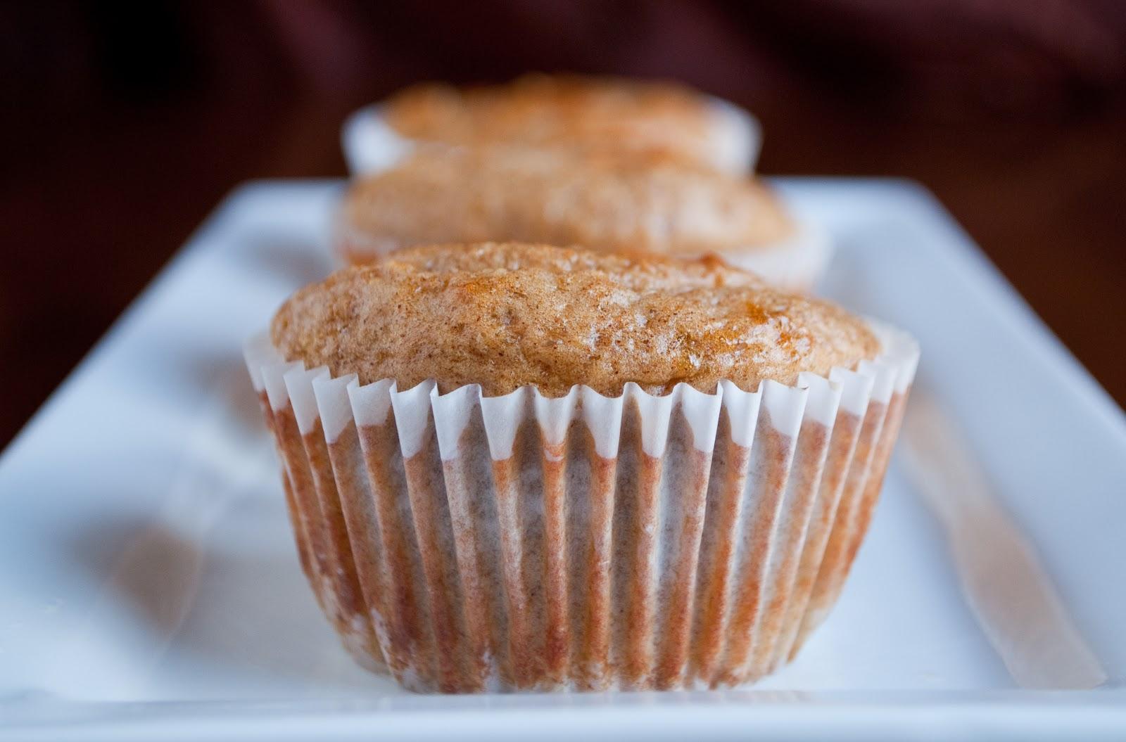 Banana Bread Protein Muffins | Savvy Apron