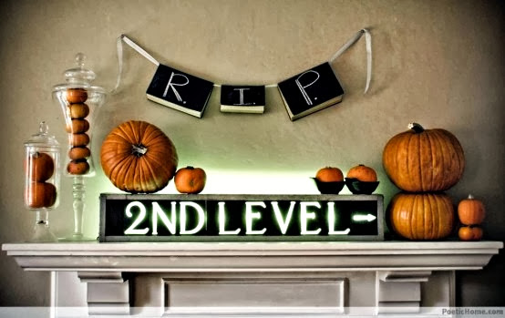 have you conjured up a few ideas - Halloween Mantel Ideas