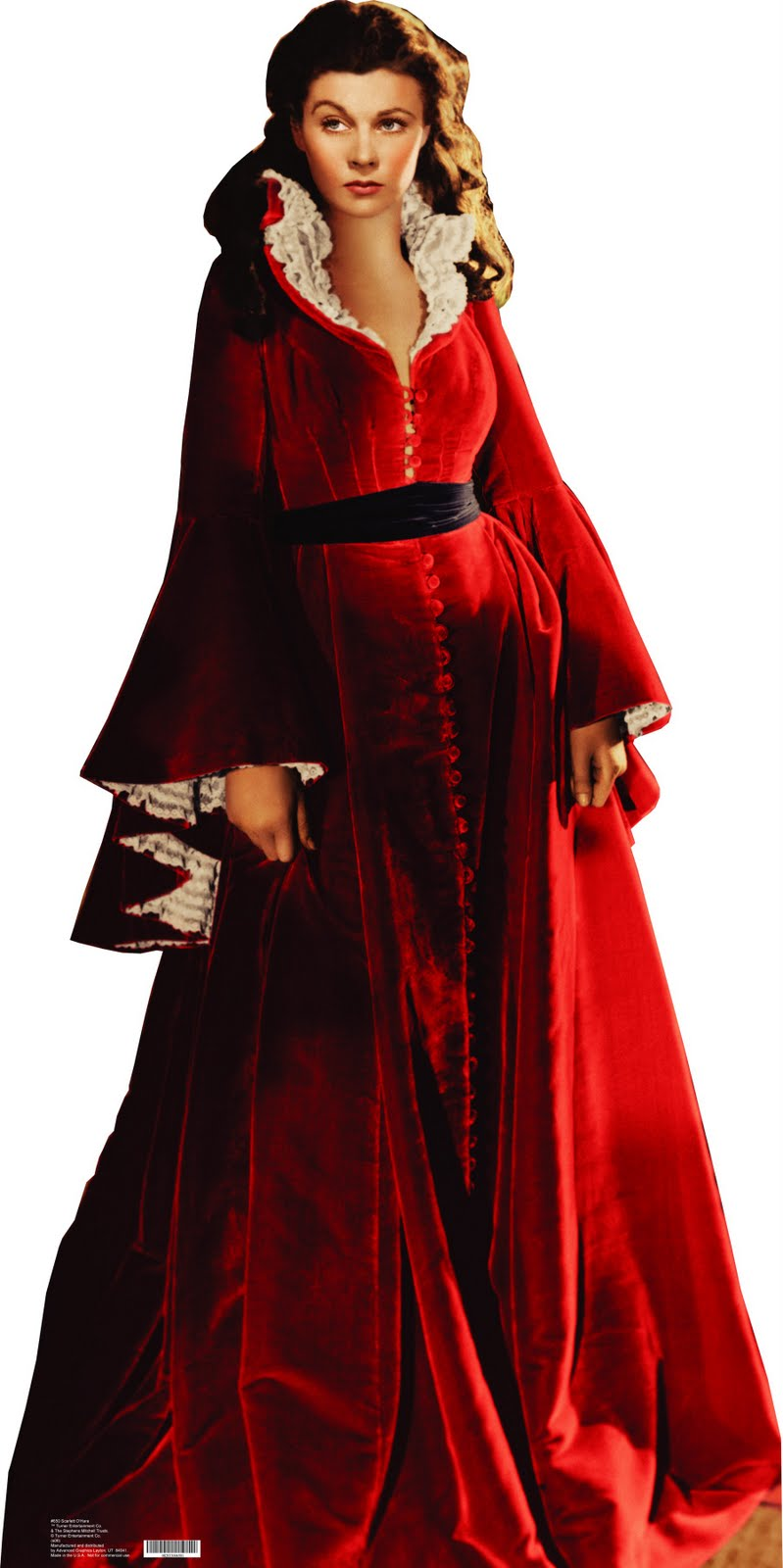 Scarlett o hara red dress qualified