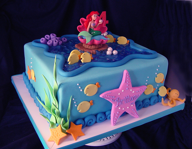 Cake Theme For Birthday : Themed Cakes, Birthday Cakes, Wedding Cakes: Mermaid ...