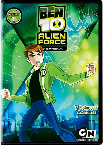 Almanaque Ben 10: Season Up:: Ben 10 Alien Force - 3ª temporada ...
