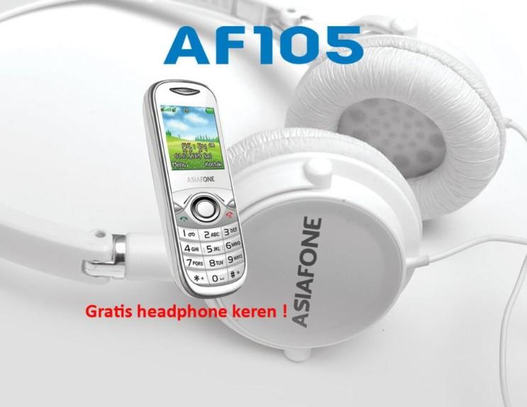 Asiafone AF105 - Gratis Headphone