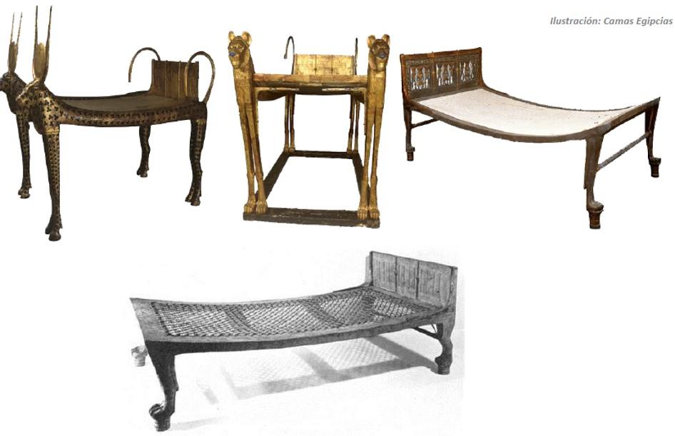 Edad antigua egipto historia del mueble - Estilos de sillas antiguas ...