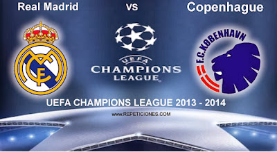 Real Madrid vs Copenhague en vivo