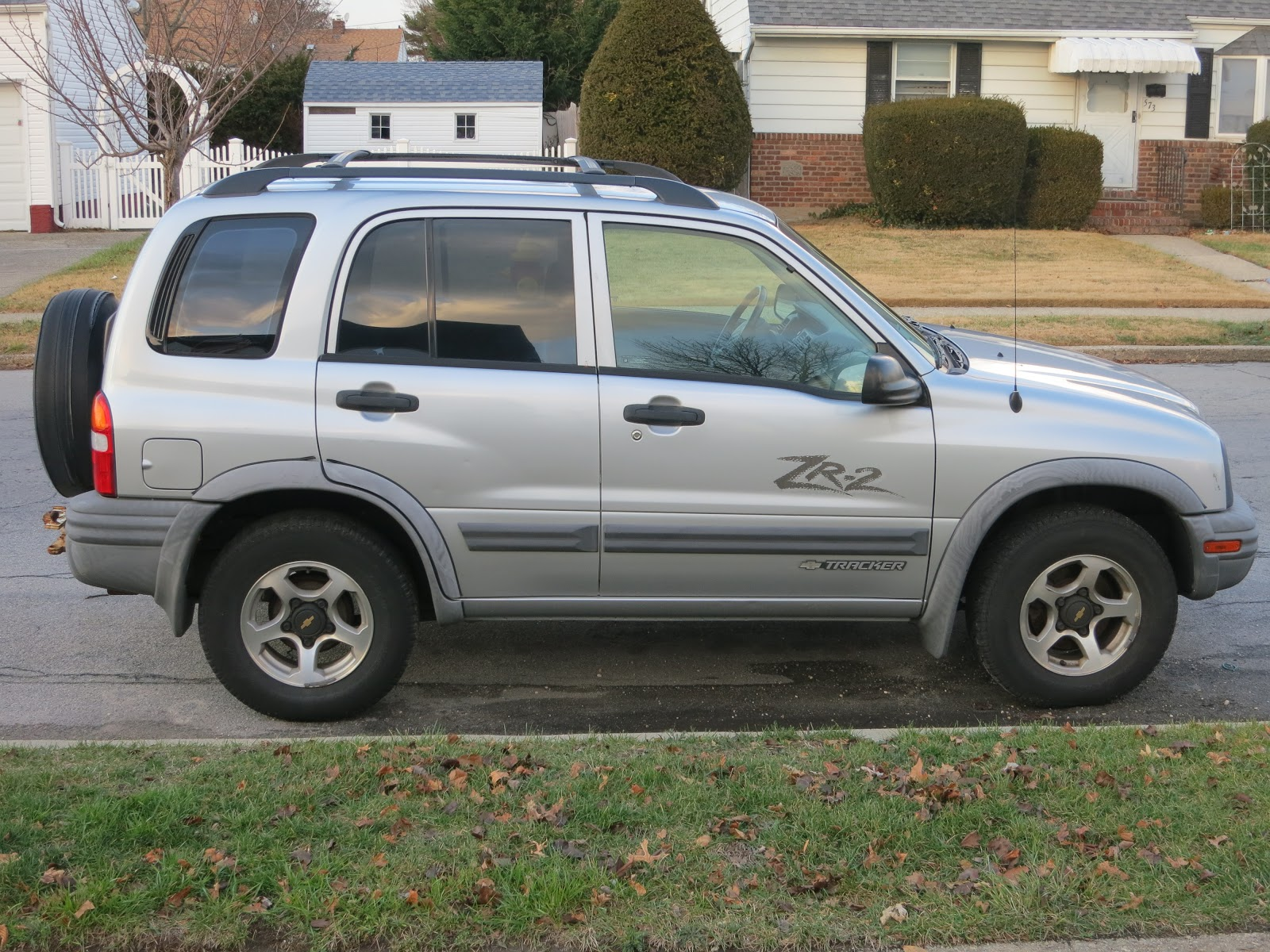 The chevrolet tracker was basically a re badged geo it has much the same look and feel but under the bow tie instead it did not sell well as a chevrolet