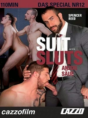 Cazzofilm Suit Sluts Spencer Reed DVD Cover