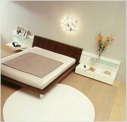 Art d co chambre coucher moderne for Chambre a coucher simple et moderne