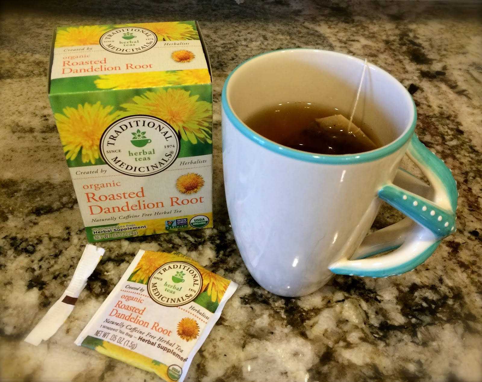 ... : Dandelion Root Tea - My Healthy Caffiene-Free Coffee Alternative
