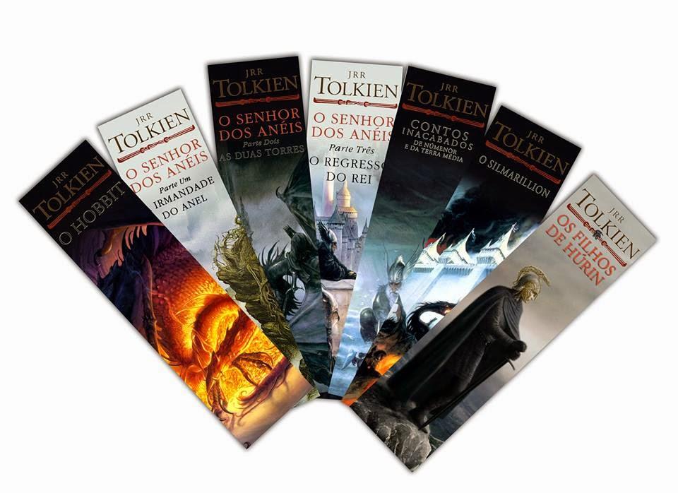 Set Marcadores Tolkien