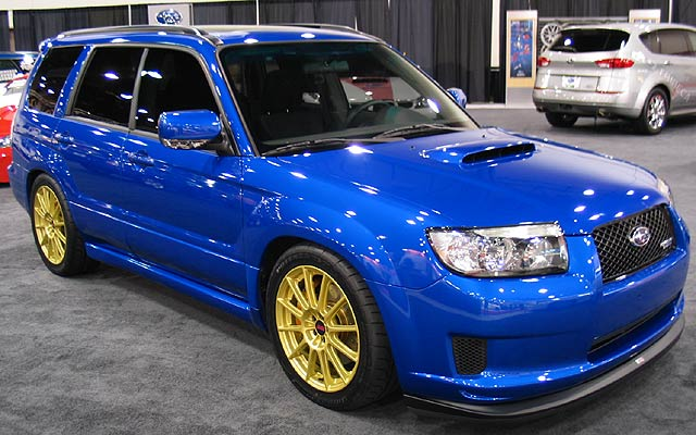 Subaru Forester STI Wwallpapers