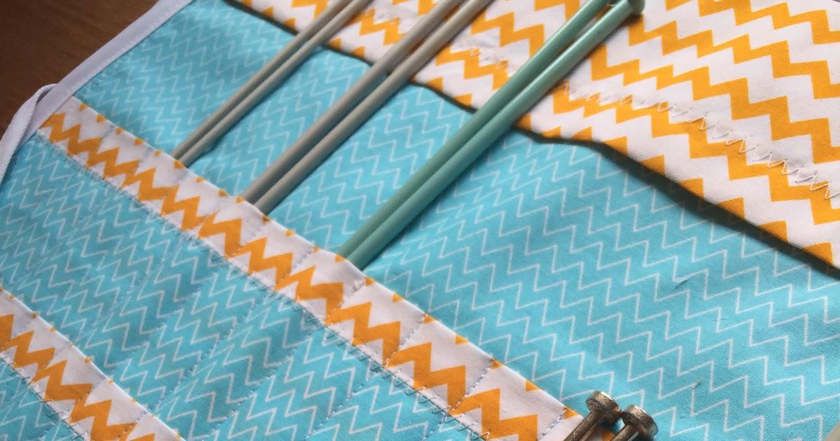 Needle Case Wrap Great British Sewing Bee Sewing Kit Garden Tea