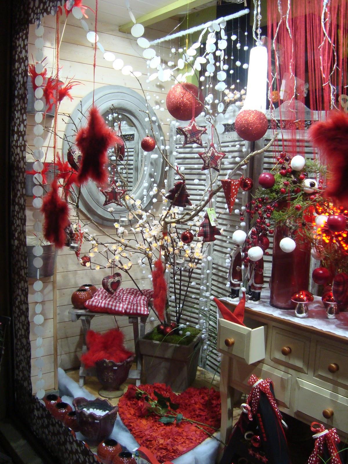 Extrêmement Maître artisan fleuriste: vitrine de Noël 2011 FE06