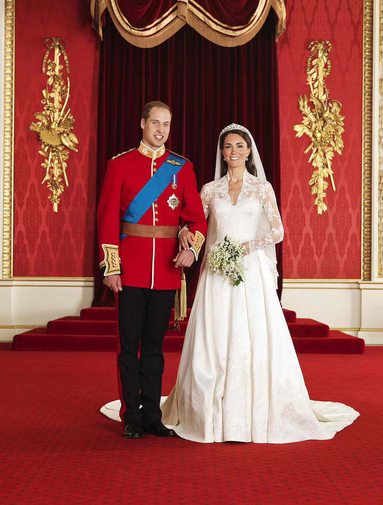 Prince William And Kate Middleton Royal Wedding Official