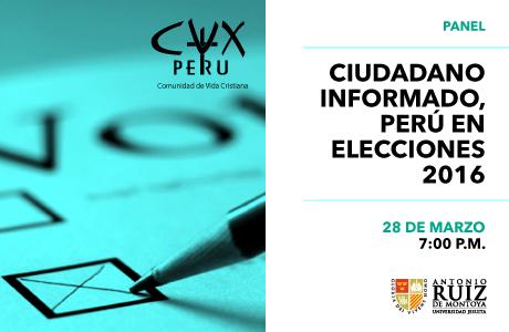 Ciudadano informado, Perú en elecciones 2016