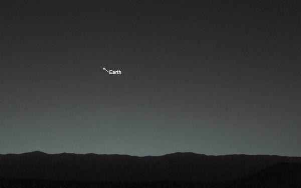 Марс и Земята