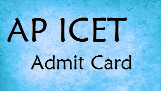 AP ICET Admit Card 2015 apicet15.org AP ICET Hall Ticket 2015