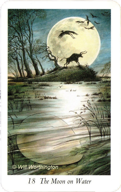 The Wildwood Tarot The Moon on Water