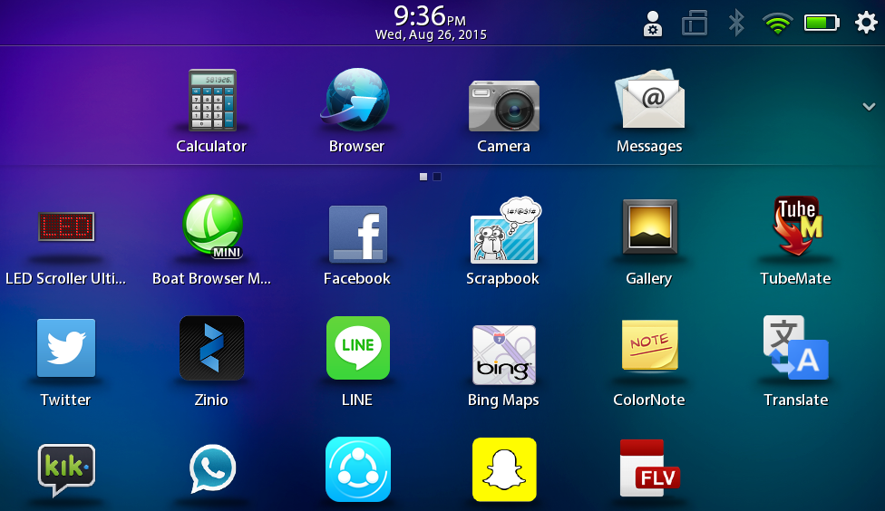 many phone can you download android apps on blackberry playbook also offers