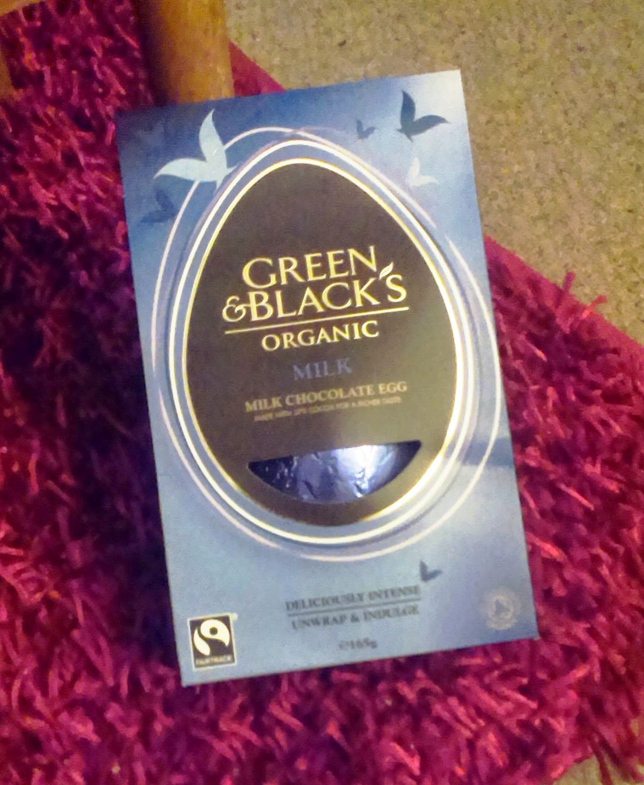 Green and Black's Easter Egg