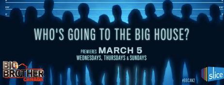 Big Brother Canada 2 Premiere Date 2014