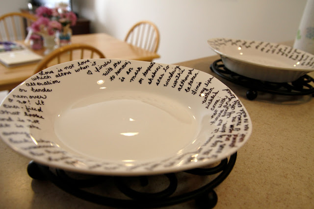 Sharpie dishes inspired by Brooklyn Limestone - Beyond the Aisle
