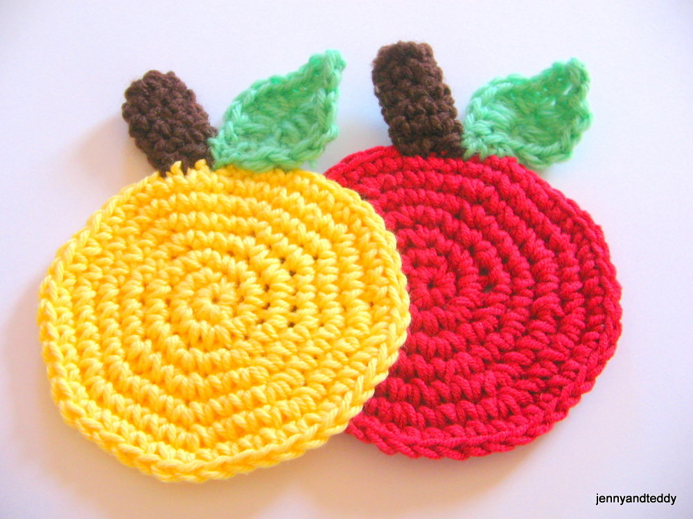 Free Easy Crochet Coaster Patterns