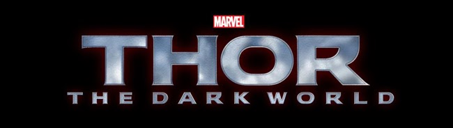 THOR: THE DARK WORLD LOGO BANNER