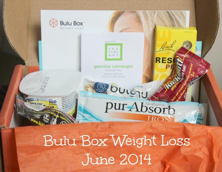 June 2014 Bulu Box Weight Loss box