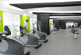 Gym at The Columns Makati