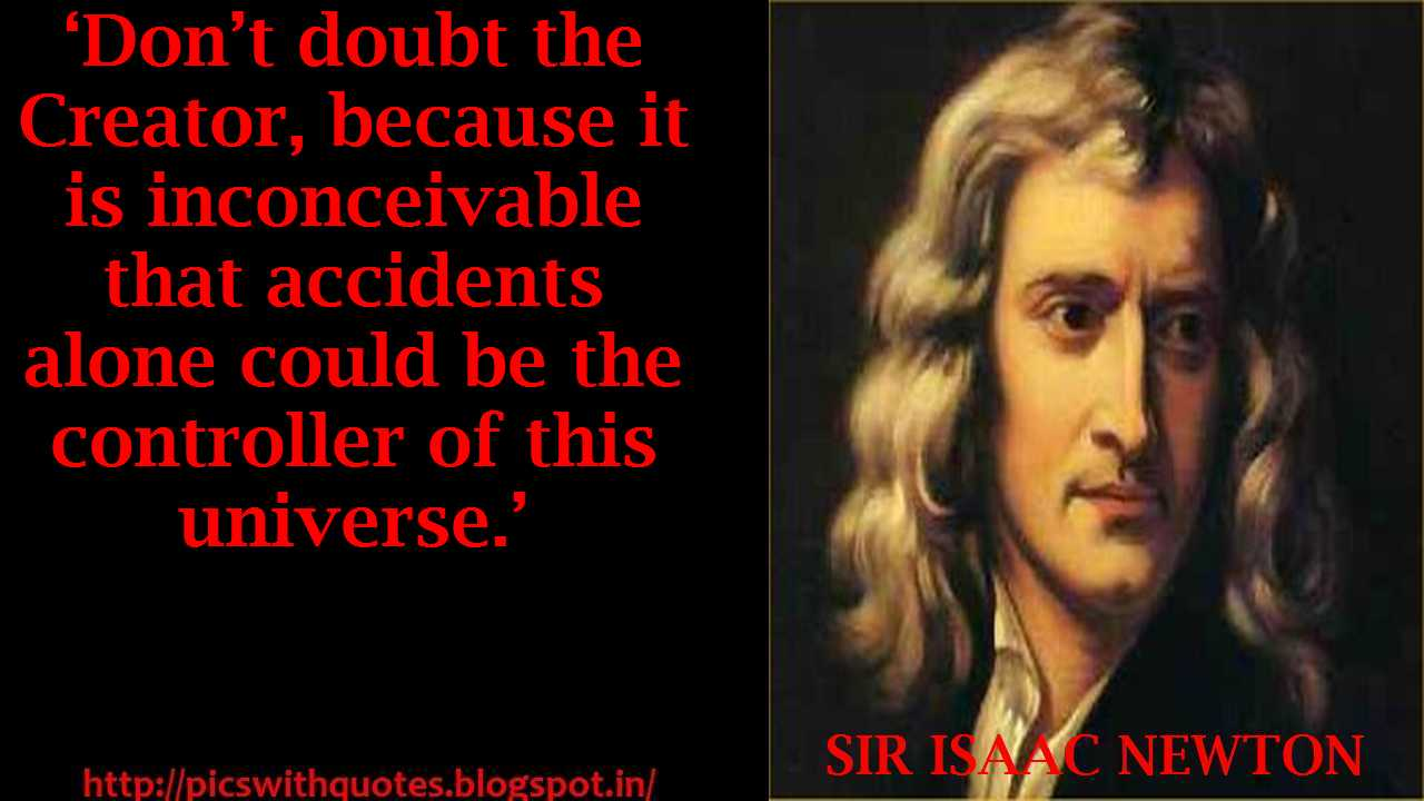 isaac newton quote ldquo all - photo #25