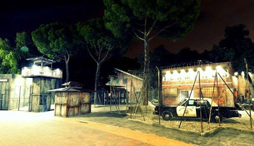 Parque de atracciones de madrid atraccion walking dead halloween