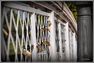 Puente de los enamorados en Leganés