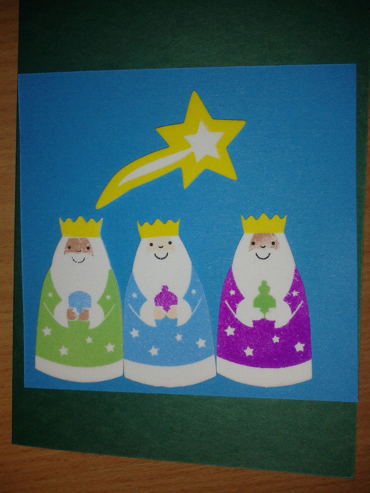 Flame: Creative Children\'s Ministry: Nativity Sticker Christmas Cards