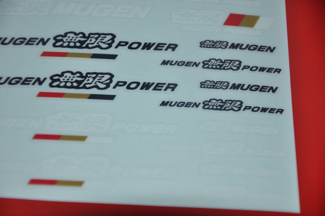 Mugen Power - Mini Sticker vinyl decal