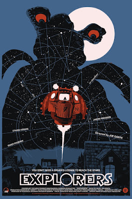 Explorers Screen Print by Francesco Francavilla & Grey Matter Art