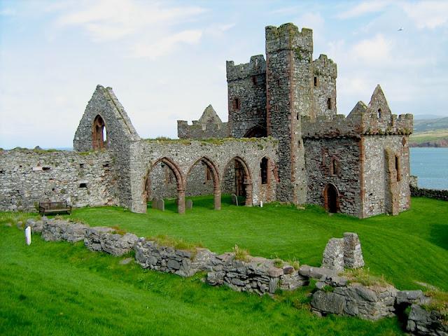 Isola di Man castello di Peel